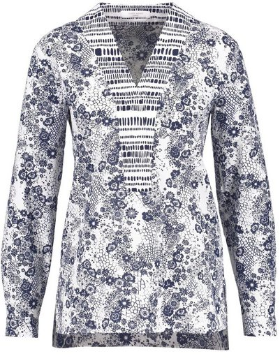 Gerry Weber Blouse Tunic Tunic Made Of Pure Cotton