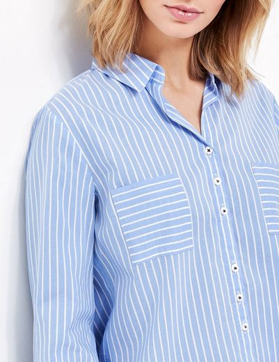 Gerry Weber Blouse 1/1 Arm Blouse Along With Stripes
