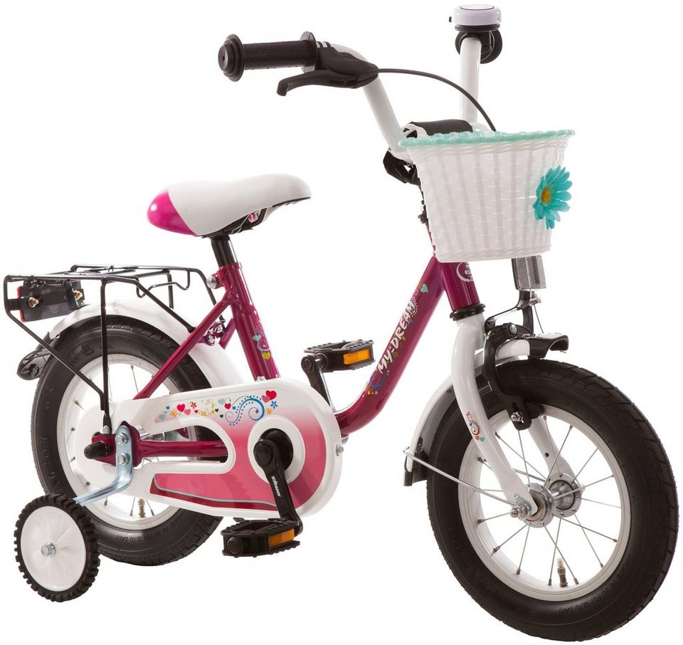bachtenkirch kinderfahrrad my dream 12 5 zoll 1 gang. Black Bedroom Furniture Sets. Home Design Ideas