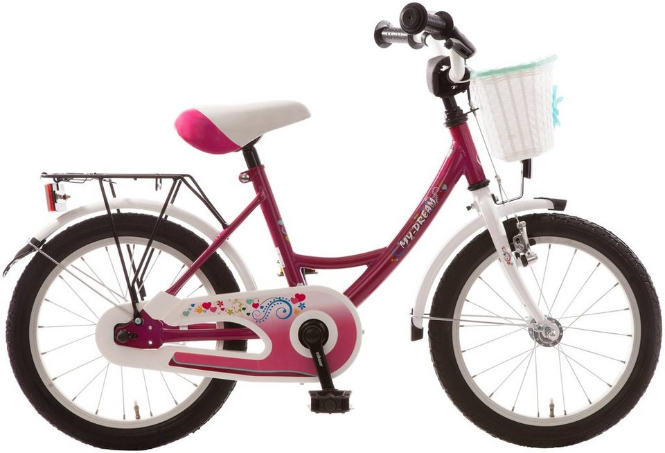 bachtenkirch kinderfahrrad my dream 18 zoll 1 gang. Black Bedroom Furniture Sets. Home Design Ideas