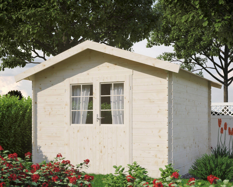 LUOMAN Gartenhaus »Lillevilla 143-0«, BxT: 309x303 cm, inkl. Fußboden