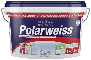 sch ner wohnen farbe innenfarbe polarweiss 2 5 liter scheuerbest ndig online kaufen otto. Black Bedroom Furniture Sets. Home Design Ideas