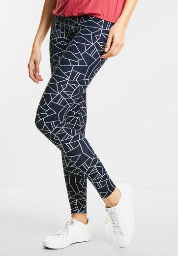 Street One Homewear Leggings mit Print
