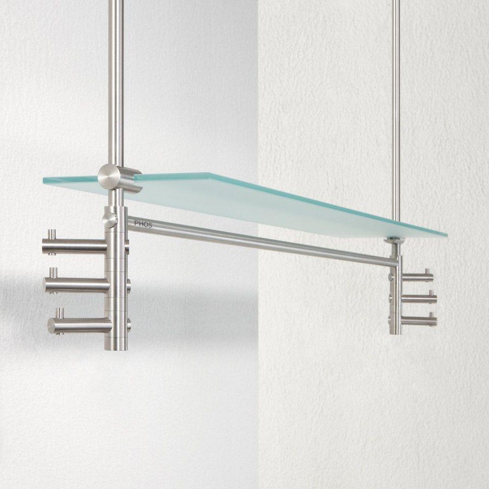 phos h ngegarderobe mit glasablage take 3 doppelt online kaufen otto. Black Bedroom Furniture Sets. Home Design Ideas