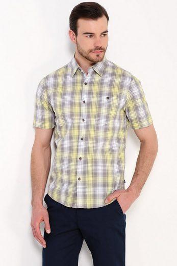 Finn Flare Freizeithemd mit Karo-Muster