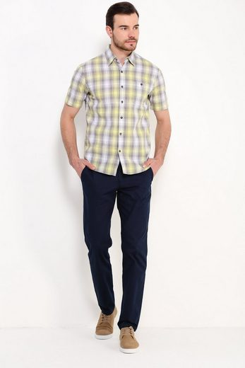 Finn Flare Casual Shirt With Caro Pattern