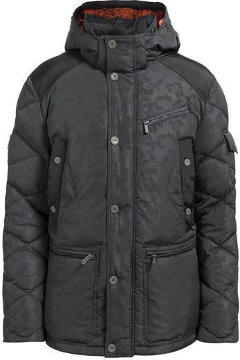 Finn Flare Down Jacket With A High Collar