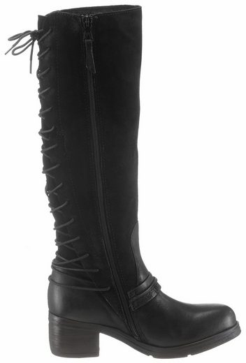 Mjus Boots, With Lace At The Shaft