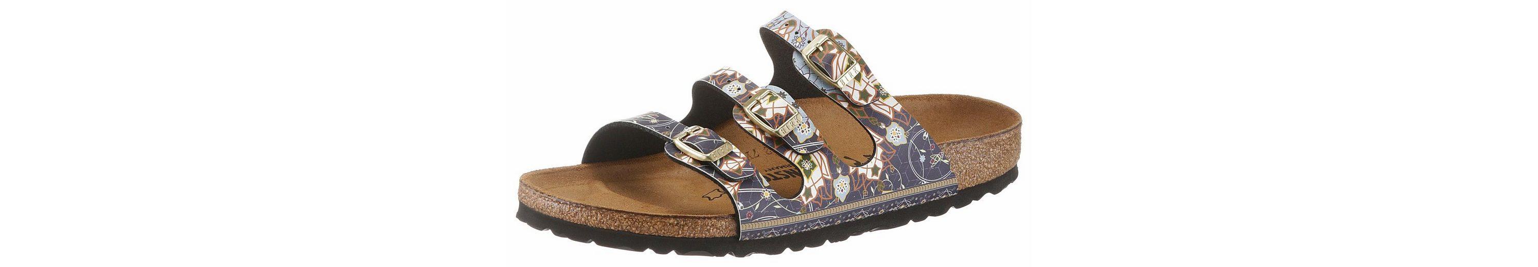 Birkenstock FLORIDA Pantolette, in schmaler Schuhweite, mit ergonomisch geformtem Fußbett