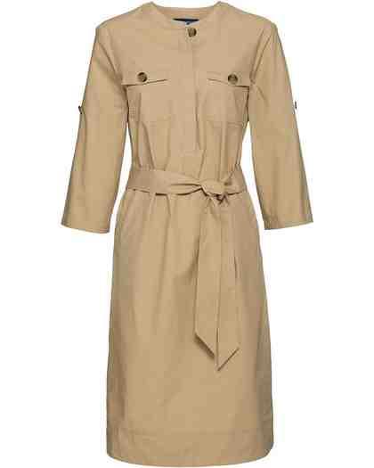 Highmoor Kleid mit Bindegürtel