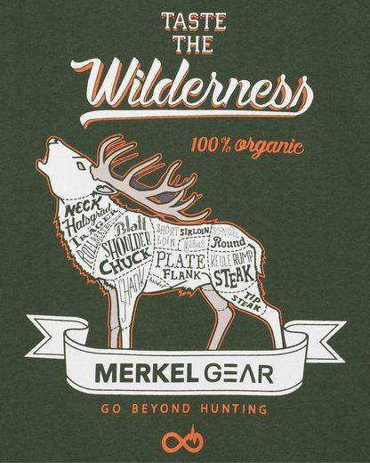 Merkel Gear T-Shirt Organic-Stag