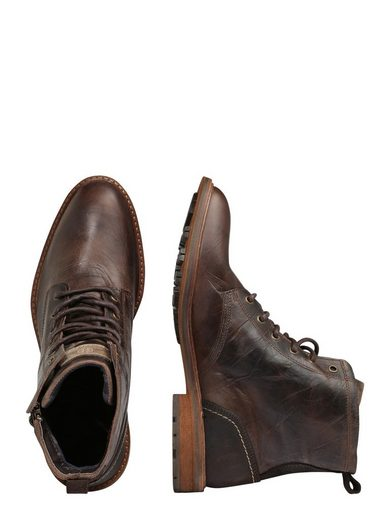 Bull Boxer Laced Boots