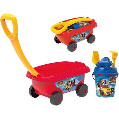 Smoby Micky Handwagen mit Eimergarnitur, 6-tlg.