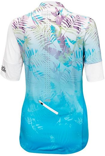 Protective T-Shirt HP Tropical Mask SS Full Zip Jersey Women