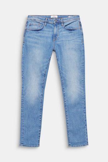 EDC BY ESPRIT Stretch-Jeans mit Used-Effekten