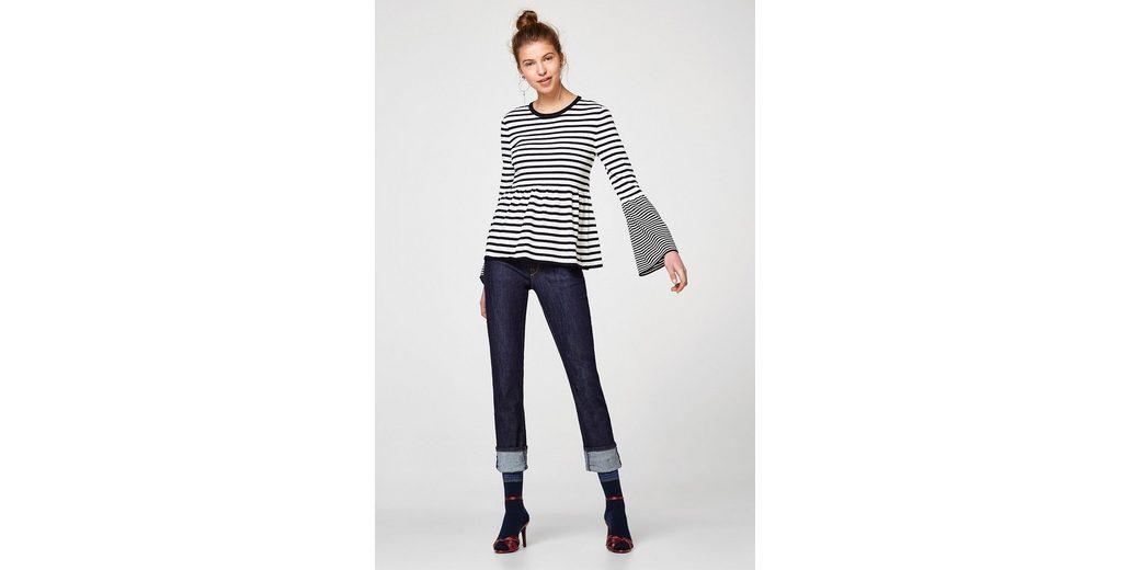 EDC BY ESPRIT Leichter Sweater mit Schößchen Online Zahlen Mit Paypal Verkauf Preiswerte Neue Ankunft Werksverkauf Mit Kreditkarte Online 4MW33CMX