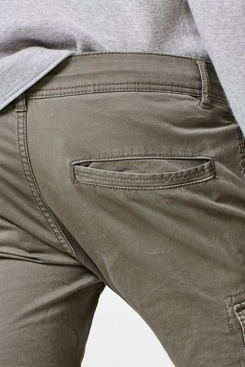 Edc By Esprit Cargo-pants In Cotton Stretch