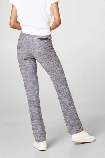 ESPRIT Melierte Active Pants, E-DRY
