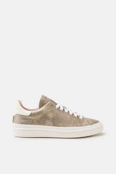 ESPRIT Trend-Sneaker im Metallic-Look