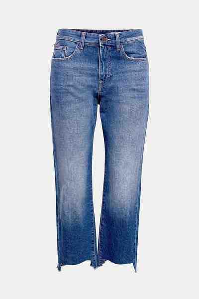 EDC BY ESPRIT Verkürzte Jeans im trendy Mom-Stil