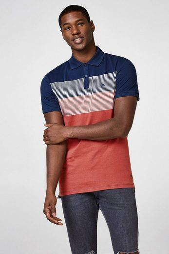 EDC BY ESPRIT Poloshirt mit Color-Blocks