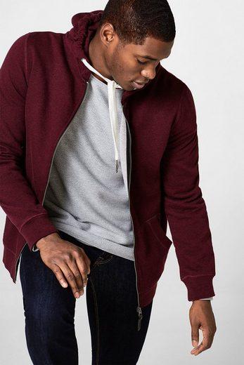 EDC BY ESPRIT Struktur-Sweater aus Baumwolle