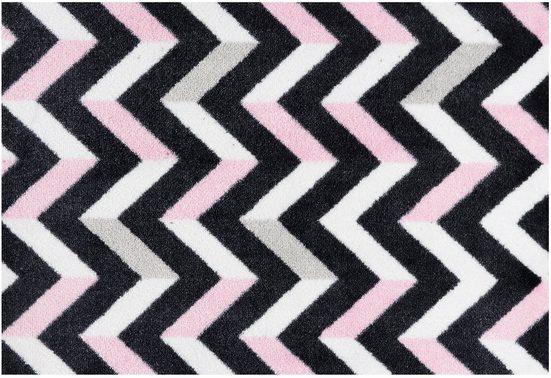 Fußmatte »Mira«, freundin Home Collection, rechteckig, Höhe 7 mm, In- und Outdoor geeignet, rutschhemmend