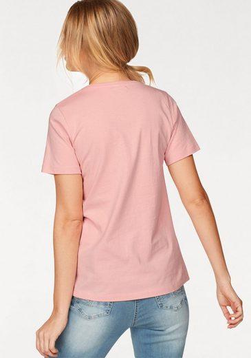 Cheer T-Shirt, mit goldfarbenen Details