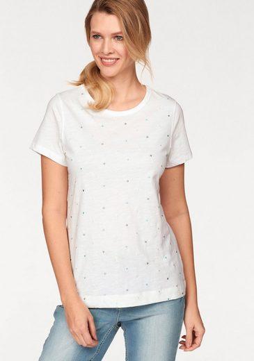 Cheer T-Shirt, mit Stickerei
