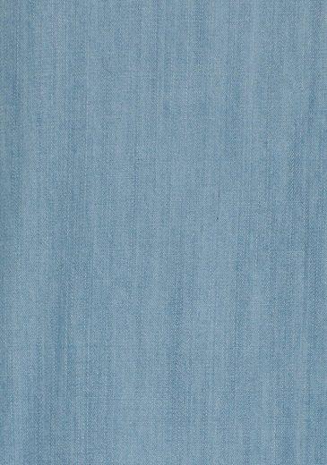 Aniston Jeanskleid, mit Rüsche am Arm