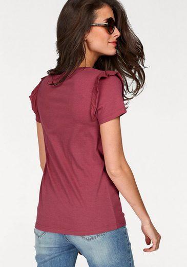 """Aniston T-Shirt, mit """"fruchtigen"""" Patches"""