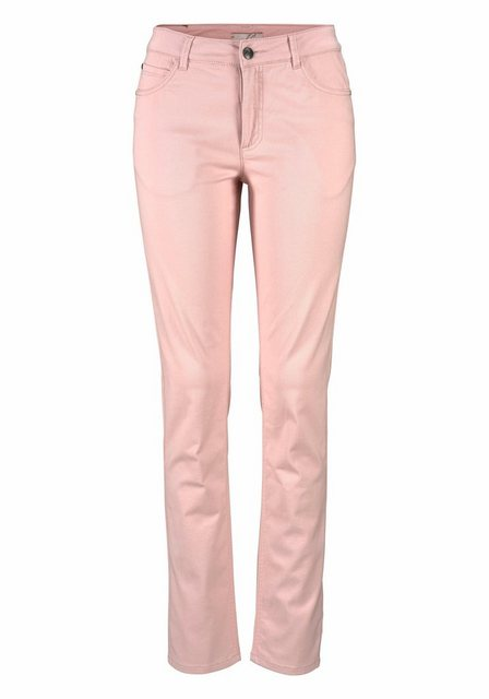 Hosen - Aniston CASUAL Slim fit Jeans in Pastelltönen › rosa  - Onlineshop OTTO