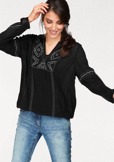 Tamaris Schlupfbluse, mit elastischem Bund