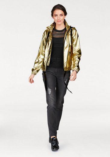 Aniston Kurzjacke, mit trendigem Netzfutter