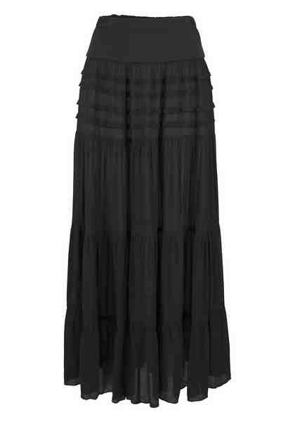 Aniston Stufenrock, mit großen Volants