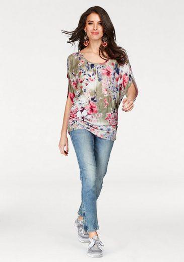 Aniston Longshirt, mit Cut-Out Schulter und Ärmel