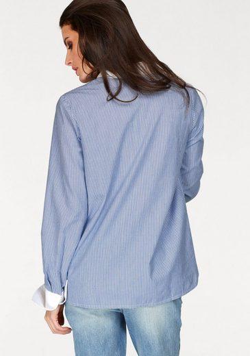 Aniston Hemdbluse, im Streifendessin
