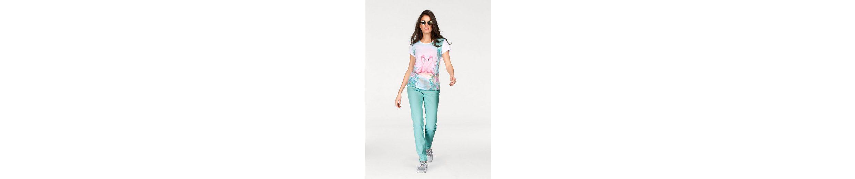 Aniston T-Shirt, nicht nur für Flamingo Fans