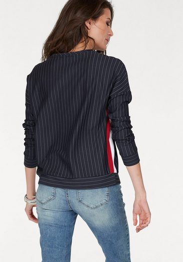 Sweat-shirt Aniston, En Design À Fines Rayures