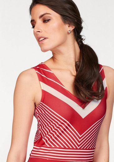 Tamaris Jerseykleid, aus trageangenehmer Qualität
