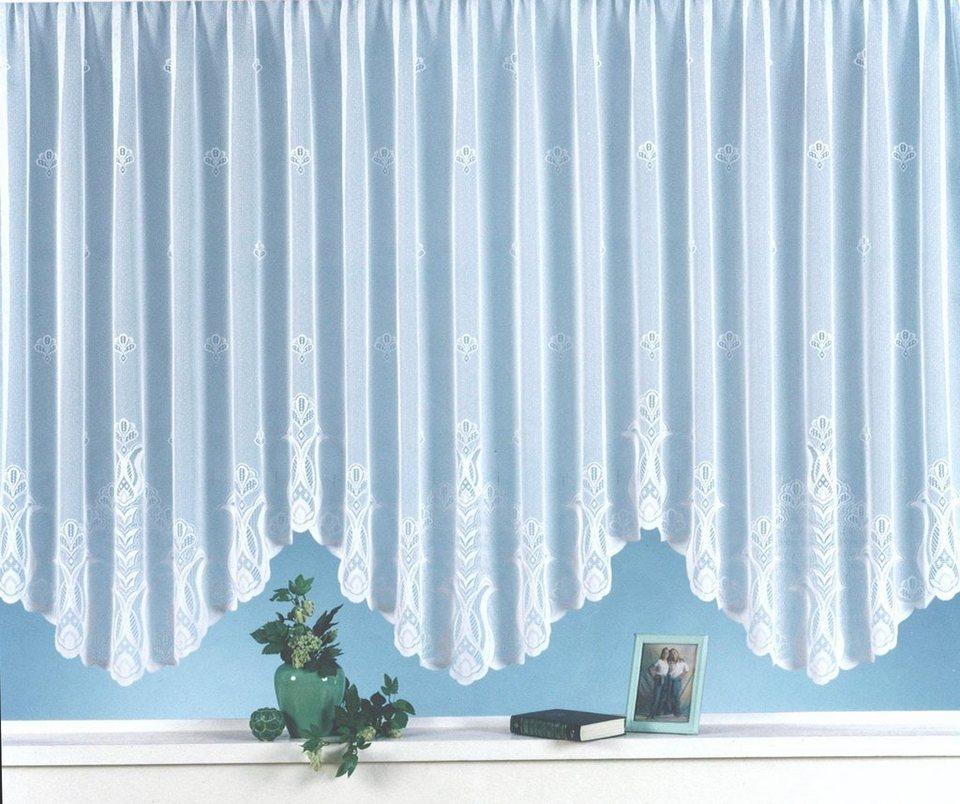 gardine alina weckbrodt kr uselband 1 st ck bogen. Black Bedroom Furniture Sets. Home Design Ideas
