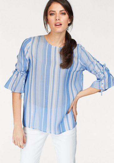 Tamaris Slip Blouse, Sleeves Volant-with