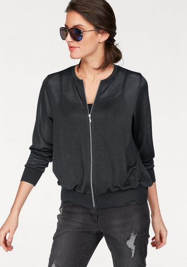 Aniston Shirtjacke, transparent