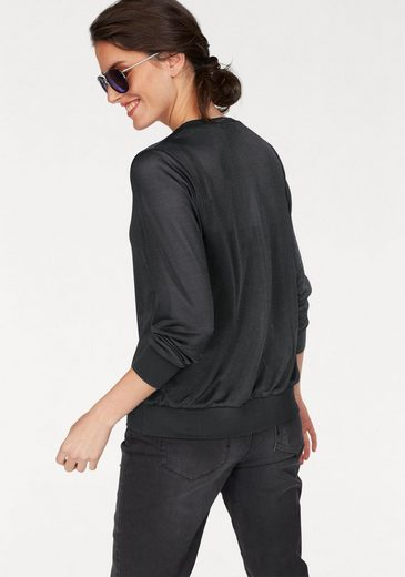 Aniston Shirtjacke, transparent