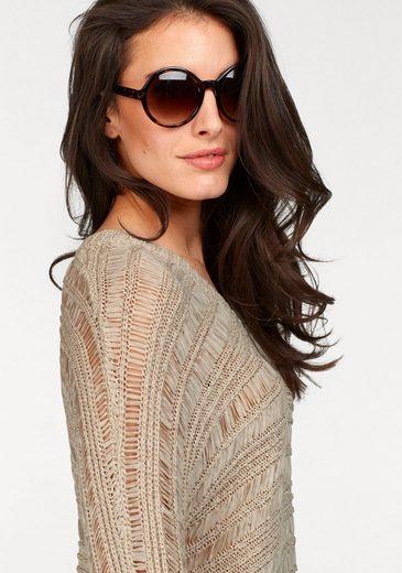 Aniston V-neck-sweater From Bändchengarn
