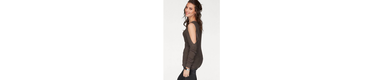 Aniston V-Ausschnitt-Pullover, mit Cut-Out Schultern