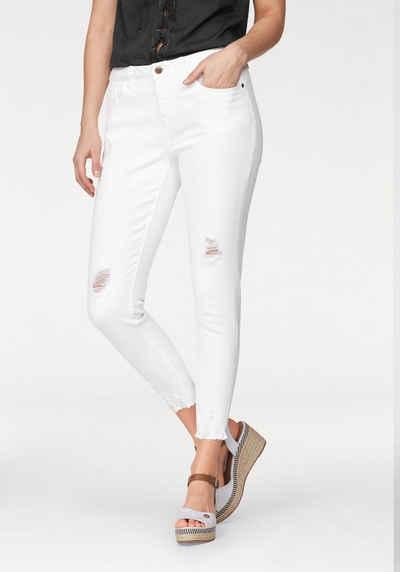 Aniston CASUAL Skinny-fit-Jeans mit Destroyed-Effekt