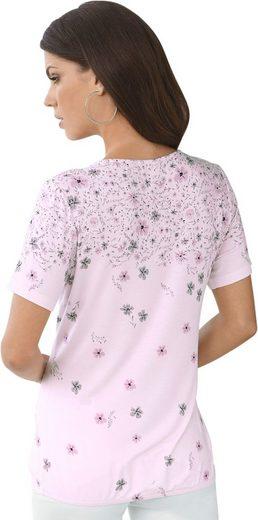 Fair Lady Shirt mit elastischem Gummibund im Saum