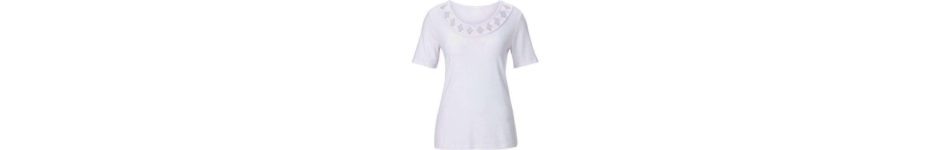 Preiswert Fair Lady Shirt mit Raffungen in Schleifen-Optik am Ausschnitt Niedrig Preis Versandkosten Für Verkauf Neuesten Kollektionen Zu Verkaufen Rabatt Bester Platz Günstig Kaufen Besuch Neu ZrRL4Nl