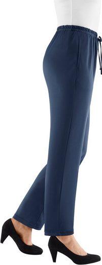 Classic Basics Jersey-Hose, pflegeleicht und bügelarm